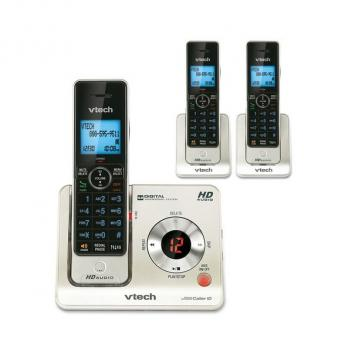 Vtech VT-LS6425-3 Backlit Keys Expandable Cordless Phones - 3HS