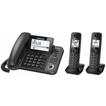 Panasonic KX-TGF382M Link2Cell Cordless/Corded Phone - 2HS