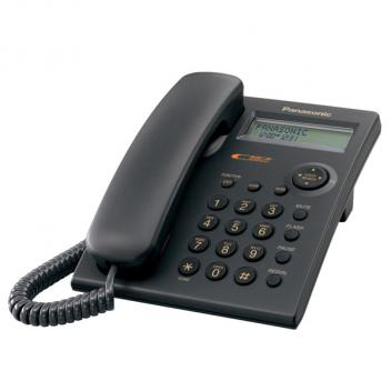 Panasonic KX-TSC11B Caller ID Corded Phone - Black