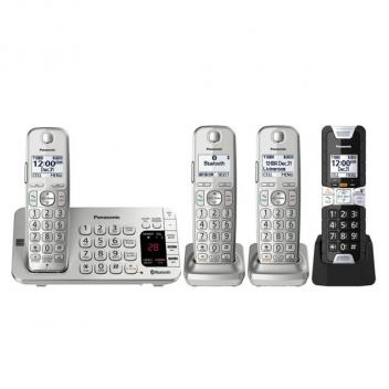 Panasonic KX-TGE484S2 4HS Link 2 Cell Cordless Phones