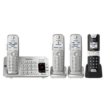 Panasonic KX-TGE484S2 4HS Link 2 Cell Cordless Phones