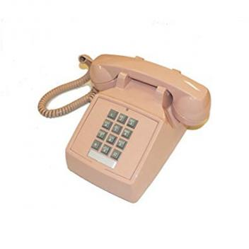 Cortelco Desk Phone with Volume - Beige