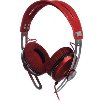 On Ear Headphones Red