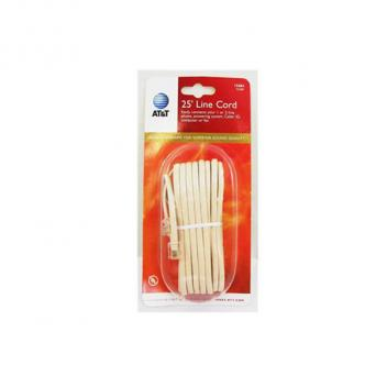 AT&T 25 foot line cord