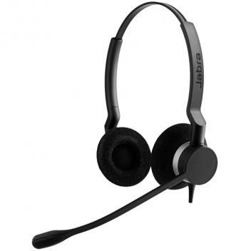 Jabra BIZ 2300 USB Duo Noise Cancelling Microphone Corded Headset