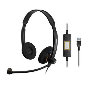 Culture Binaural USB Corded Headset