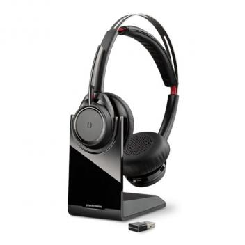 Plantronics Voyager Focus UC Noise Cancelling Stereo Wireless Headset - Microsoft Lync
