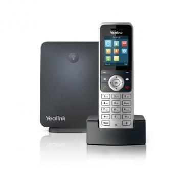 Yealink YEA-W53P IP DECT Bundle W53H with W60 Base Cordless Phone