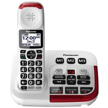 Panasonic KX-TGM420W White Backlit LCD Cordless Handset