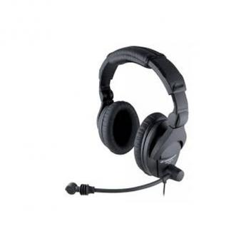 Sennheiser Over-the-head, around the ear noise blocking headset (includes noise cancelling microphone)