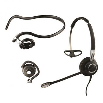 Jabra BIZ 2400 II Mono, Ultra Noise Canceling, 3-in-1 Wearing Styles