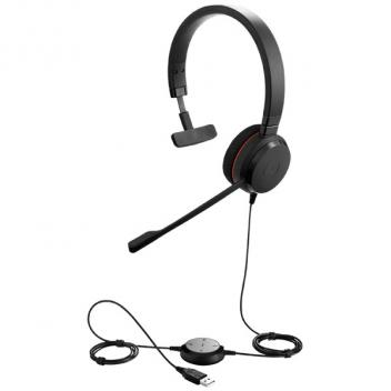 Jabra Evolve 20 Mono UC Corded Headset