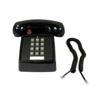 Cortelco Desk Telephone Message Waiting Light - Black