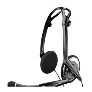 Plantronics .Audio 400 DSP Duo Noise-Cancelling Computer Corded Headset