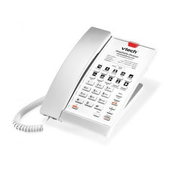 Vtech VTH-S2210-L-SP SIP Base Dialpad 1 Line Corded Phone - Silver