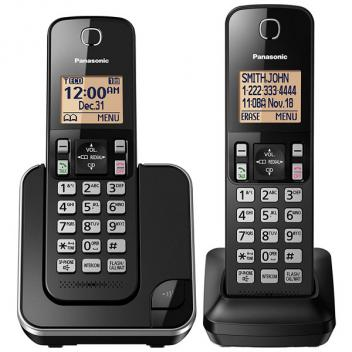Panasonic KX-TGC352B 1.6IN Amber Backlit Display Cordless Handset