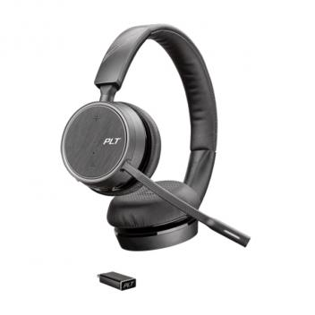 Plantronics Voyager 4220 UC USB-C Bluetooth Wireless Headset