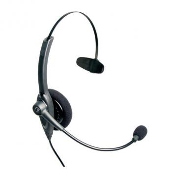 VXI Passport 10P Over-the-head Mono Headset with N/C Microphone - Bulk