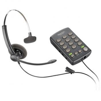 Plantronics T110 Single line Analog Telephone Monaural Corded Headset