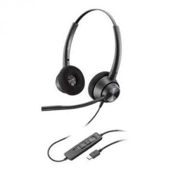 Plantronics ENCOREPRO EP320 USB-C QD Corded headset
