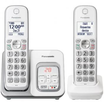 Panasonic KX-TGD532W Backlit Display Cordless Handsets
