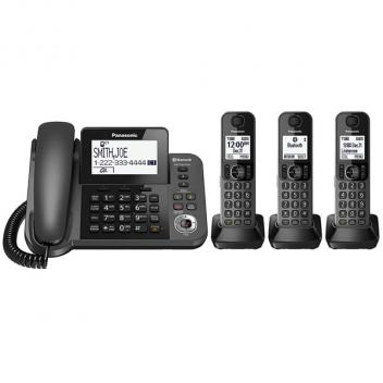 Panasonic KX-TGF383M Link2Cell Cordless/Corded Phone - 3HS