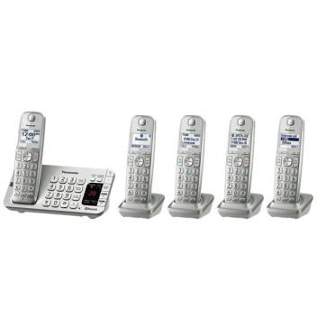 Panasonic KX-TGE475S Link2Cell DECT 6.0 Expandable Cordless Handsets
