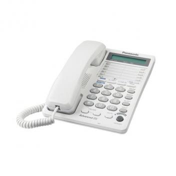 Panasonic KX-TS208W 2-Line Feature Corded Phone with LCD - White