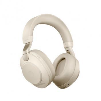 Jabra Evolve2 85 Link 380C MS Stereo Beige Bluetooth Wireless Headset