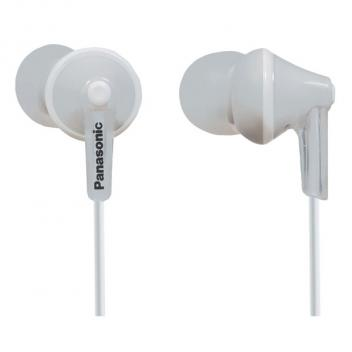 Panasonic In-Ear White Headphones for iPhone/Android/Blackberry