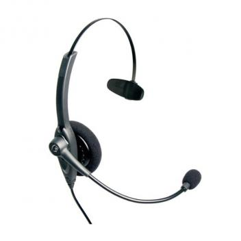 VXI Passport 10P DC Over-the-head Mono Headset with N/C Microphone - Box