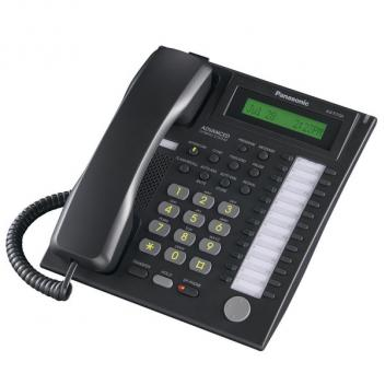 Panasonic KX-T7731-B 24 Button Speakerphone with LCD Corded Phone - Black