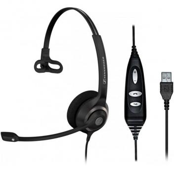 Sennheiser SC230 USB Wideband, single-sided professional communication headset