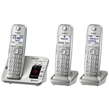 Panasonic KX-TGE263S Link2Cell Bluetooth Expandable Cordless Handsets