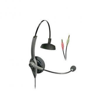 VXi TalkPro SC1 Mono Headset (Passport 10) With 3.5mm Sound Card Plugs - Bulk