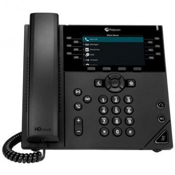 Polycom VVX 450 12-line IP Phone, POE