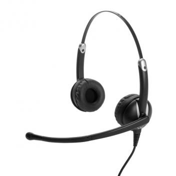 VXI Envoy UC 3031U Stereo USB Headset with Microphone Volume DSP Unified Communications Bulk