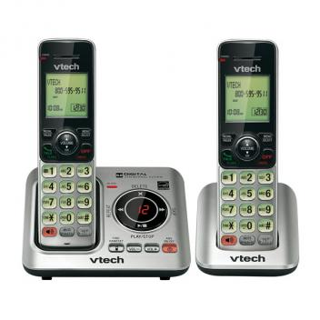Vtech VT-CS6629-2 DECT 6.0 Caller ID Cordless Phones - 2HS