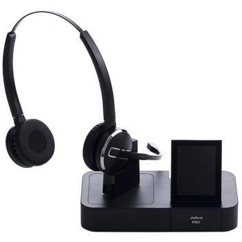 Jabra Pro 9460 NC 400FT Desk Phone & Dual Link USB PC Headset