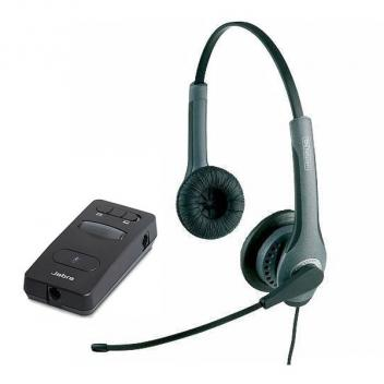 Jabra GN 2025 IP Duo NC Corded Headset with LINK 850 Amp