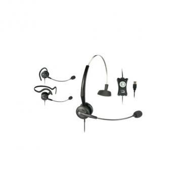 VXI TalkPro Convertible USB Corded Headset