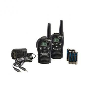 Midland Radio GMRS 2-Way Radio (Up to 18 Miles) with accessories