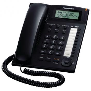 Panasonic KX-TS880B Caller ID Corded Phone - Black