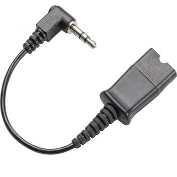 Plantronics CABLE ASSY 3.5MM RIGHT ANGLE PLUG QD