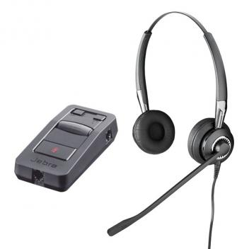 Jabra BIZ 2470 Mono UNC Headset with LINK 850 Amp