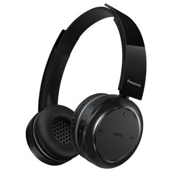 Panasonic On Ear Hp BT Microphone Bluetooth Headphone - Black