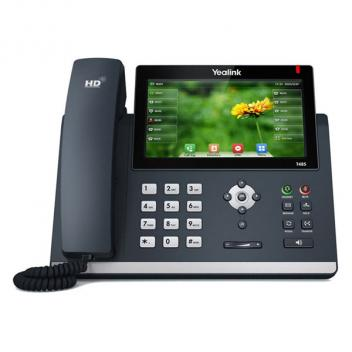 Yealink YEA-SIP-T48S Ultra-Elegant Touchscreen Corded Phone