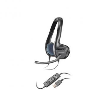 Plantronics .Audio 628 Duo Noise-Cancelling USB Computer Corded Headset