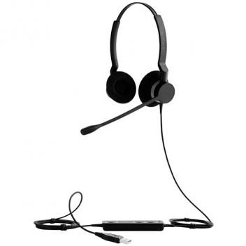 Jabra BIZ 2300 USB Duo MS Corded Headset