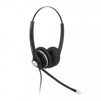 Vtech VT-A100D Wideband Noise Cancelling Binaural Corded Headset